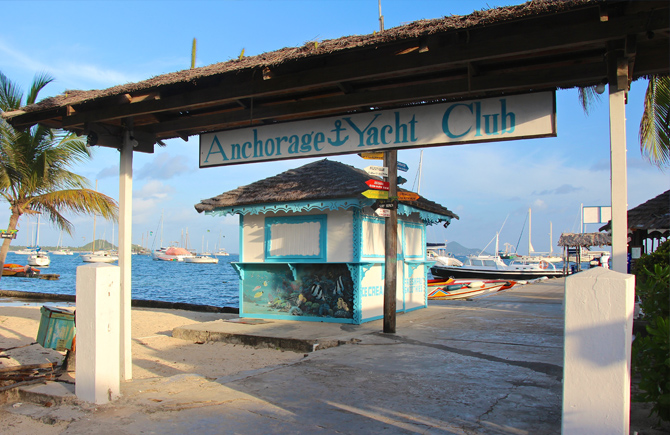 Anchorage Yacht Club Union Island | Caribbean Oceanfront Resort